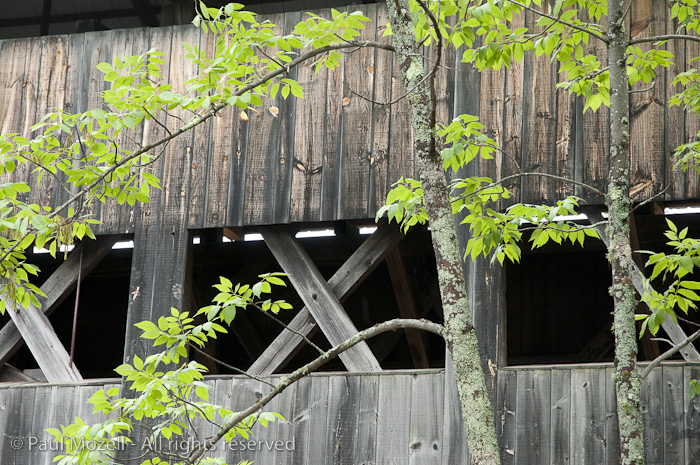 Exterior of the Albany Covered Bridge