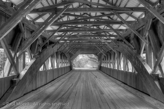 The Albany Covered Bridge over the Swift River