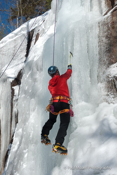 Ice Cllimbing In New Hampshire